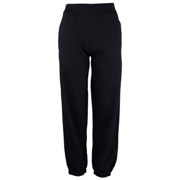 Sweat Pants - Black Cuffed